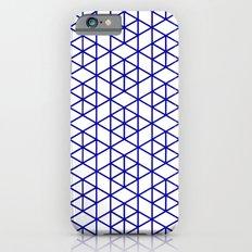 Karthuizer Blue & White Pattern iPhone 6s Slim Case