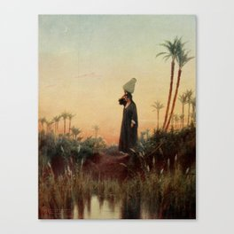 Kelly, Robert Talbot (1861-1934) - Egypt 1903, Rachel Canvas Print