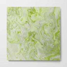 Marble Twist XII Metal Print