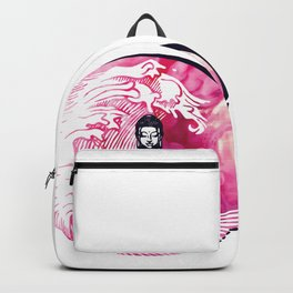 Smokey Buddha Wave Backpack