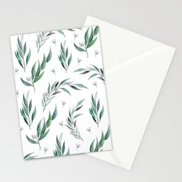 Native Gum Leaves Stationery Cards