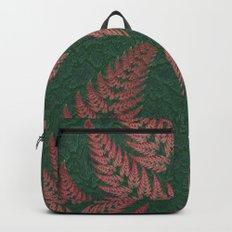 Fall Fern Fractal Backpack
