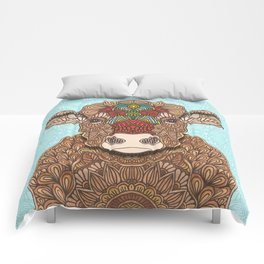 Frida the cow Comforters