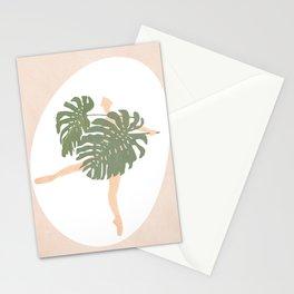 Nude Ballerina Stationery Cards