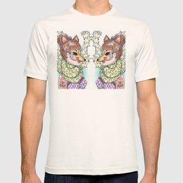 Girl Kitsune T-shirt