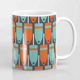 Buoys, Orange & Blue Coffee Mug