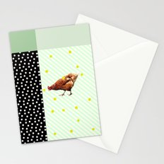 Une poule Stationery Cards