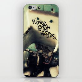 Wash Yr Hands iPhone Skin