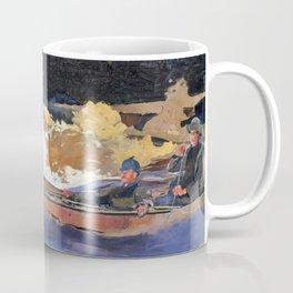Shooting The Rapids, Saguenay River - Digital Remastered Edition Coffee Mug