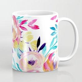 Bold Floral Coffee Mug