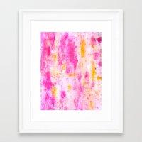fancy Framed Art Prints featuring Fancy by T30 Gallery