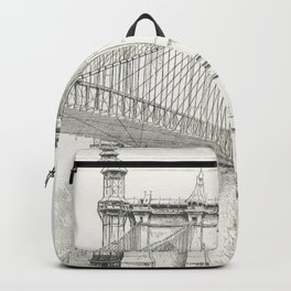 Vintage New York City Sketch Backpack