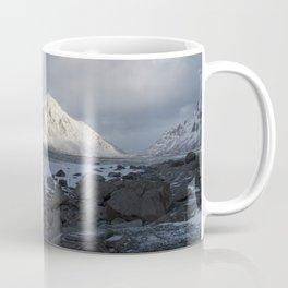White, blue and grey Coffee Mug