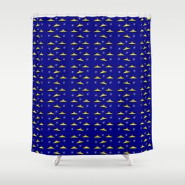 Flying saucer 5 Shower Curtain