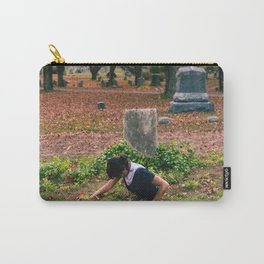 buried alive / taphophobia Carry-All Pouch