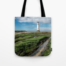 Perch Rock Lighthouse Tote Bag