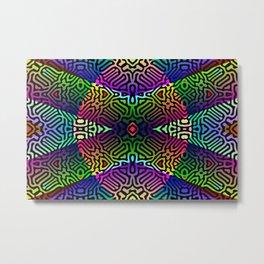 Colorandblack serie 166 Metal Print