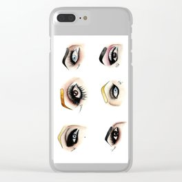 Eye see Drag Clear iPhone Case