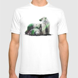 Arctic Polar Bear Family T-shirt