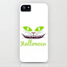 "Happy Halloween Shirt For October November Cat Animals""It's Feeline Like Halloween"" T-shirt Design iPhone Case"