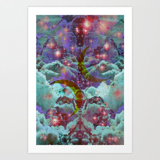 Lunar Dance Art Print
