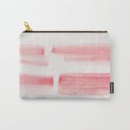 26| 190301 Watercolour Painting Abstract Pattern Red Pink Scarlet Carry-All Pouch