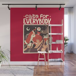 Cats for Everybody Wall Mural
