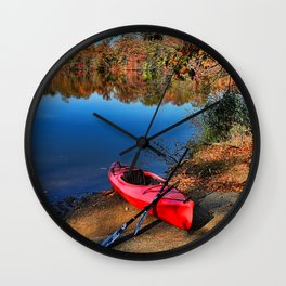Such A Beautiful Day Wall Clock