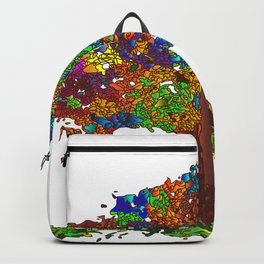 The Stained Glass Tree Backpack