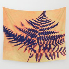 Fern Solar Print (Inverted) Wall Tapestry