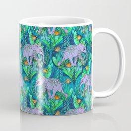 Little Elephant on a Jungle Adventure Coffee Mug