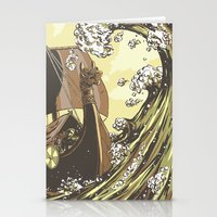 vikings Stationery Cards featuring Vikings by Josue Noguera