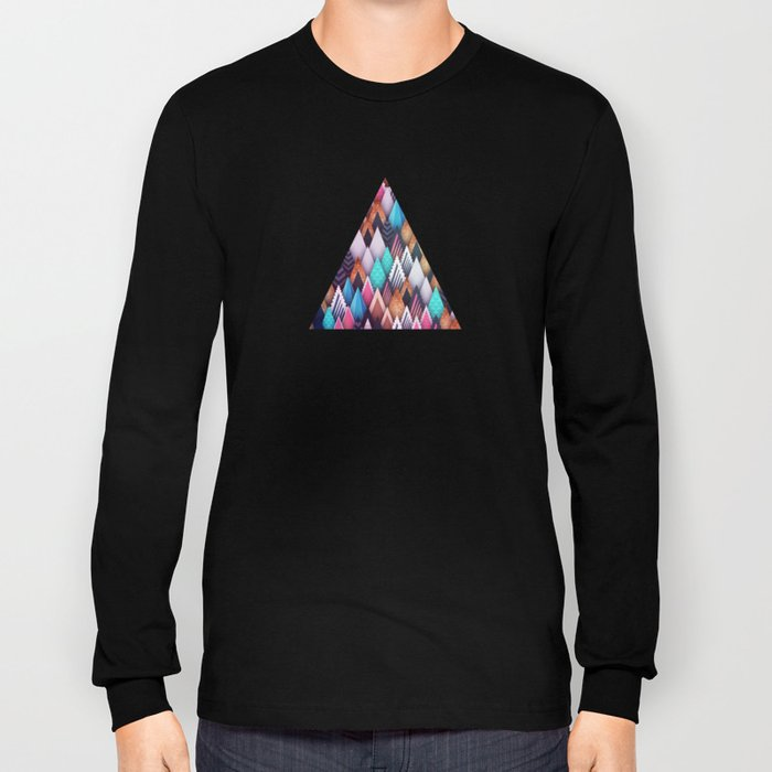 Background pattern 4 Long Sleeve T-shirt