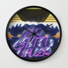 Synthwaver Wall Clock