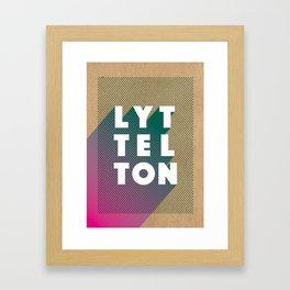 Lyttelton Dots Kraft Framed Art Print