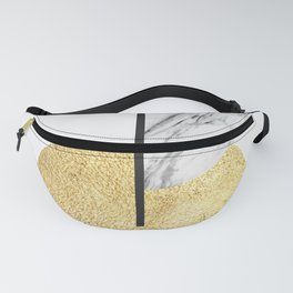 Golden polygon XVIII Fanny Pack