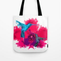 Pink hum orchid explosion  Tote Bag