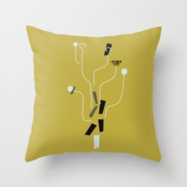 Clueless Bramble [Gold] Throw Pillow