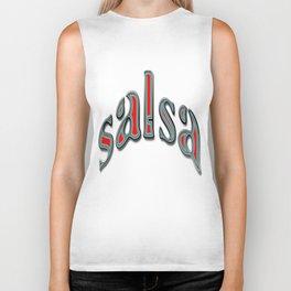 Salsa Dent Text Biker Tank