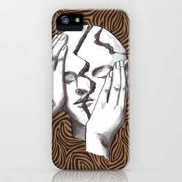 Wrack Your Brains iPhone Case