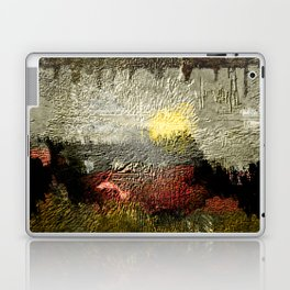 Abstract III - Rising Sun Laptop & iPad Skin