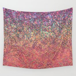 Sparkley Grunge Relief Background G179 Wall Tapestry