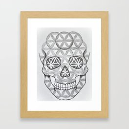 Skull of life Framed Art Print