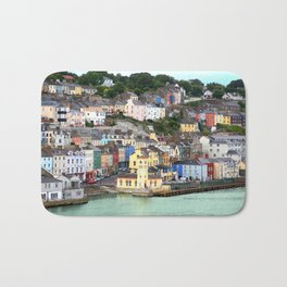 Colorful Cobh Ireland Bath Mat