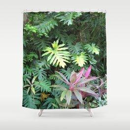 Tropical Garden Paradise 1 Shower Curtain