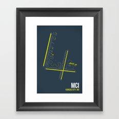 MCI Framed Art Print