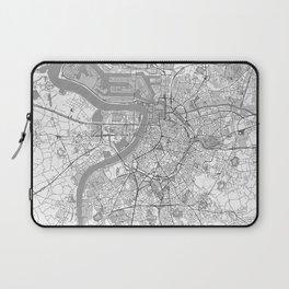Antwerp Map Line Laptop Sleeve