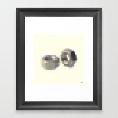 Censored Hardware Fasteners Framed Art Print