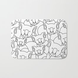 Minimalist Koala Bath Mat