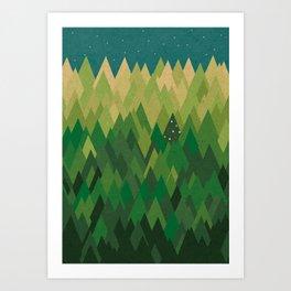 In the spirit Art Print